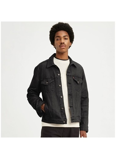 Levi's® Erkek Jean Ceket Vintage Fit 77380-0013 Siyah